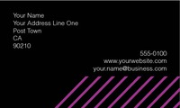"""Clubs 2"""" x 3.5"""" Business Cards by Rebecca Doherty"""