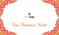 """Dance Class 2"""" x 3.5"""" Business Cards by C V"""