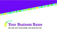 "Home Improvement 2"" x 3.5"" Business Cards by Mac Poustchi"