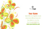"Florist 2"" x 3.5"" Business Cards by Mac Poustchi"