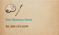 "Art & Design 2"" x 3.5"" Business Cards by Templatecloud"