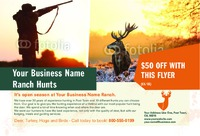 """Hunting 4"""" x 6"""" Flyers by Ro Do"""