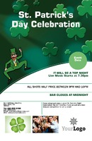 "St Patricks Day 5.5"" x 8.5"" Flyers by Neil Watson"