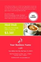 "Restaurant 5.5"" x 8.5"" Flyers by Paul Wongsam"