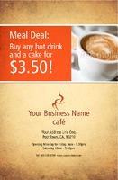 """Cafe 5.5"""" x 8.5"""" Flyers by Paul Wongsam"""