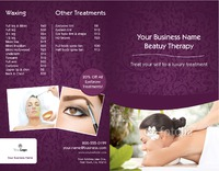 """Massage 8.5"""" x 11"""" Brochures by Nickola O'Connor"""