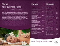 "Massage 8.5"" x 11"" Brochures by Nickola O'Connor"