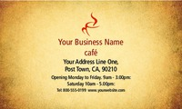 "Cafe 2"" x 3.5"" Business Cards by Paul Wongsam"