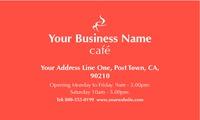 "Restaurant 2"" x 3.5"" Business Cards by Paul Wongsam"