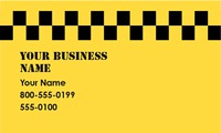 "Taxi 2"" x 3.5"" Business Cards by Francesca Jordan"