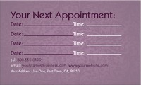 "Massage 2"" x 3.5"" Business Cards by Nickola O'Connor"