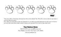 "Animals 2"" x 3.5"" Business Cards by Keira Douglas"
