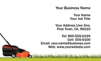 "Lawn Maintenance 2"" x 3.5"" Business Cards by Neil Watson"