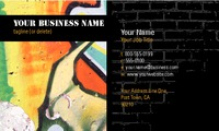 "Artists 2"" x 3.5"" Business Cards by Templatecloud"