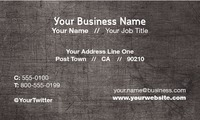 "Building Contractors 2"" x 3.5"" Business Cards by Robert Doyle"