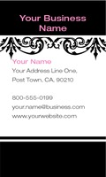 "Hair 2"" x 3.5"" Business Cards by Laura Marples"