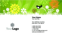 "Lawn Maintenance 2"" x 3.5"" Business Cards by Paul Wongsam"