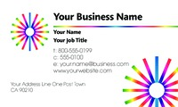 """Technology 2"""" x 3.5"""" Business Cards by Carla Roberts"""