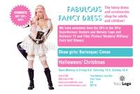 """Fancy Dress 4"""" x 6"""" Flyers by Rebecca Doherty"""