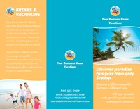"8.5"" x 11"" Brochures by TemplateCloud.com"