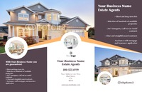 "Estate Agents 11"" x 17"" Brochures by Templatecloud"