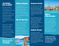 "Cruise 8.5"" x 11"" Brochures by TemplateCloud.com"