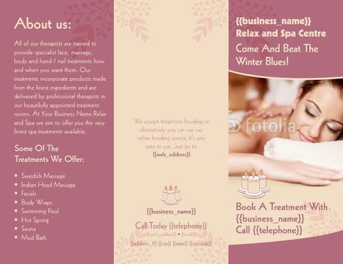 "Beauty Salon 8.5"" x 11"" Brochures by Ro Do"