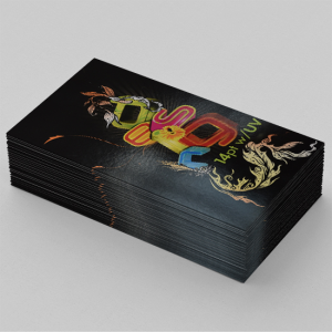 14PT Business Cards + UV Front