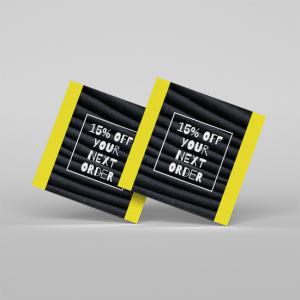 16PT Business Cards + Full UV Front
