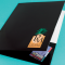 14PT premium gloss cover, folded & glued Budget Folded & Glued Presentation Folders