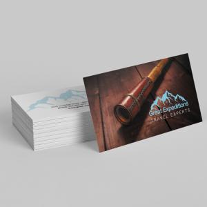 Fast&Few Matt Laminated Business Cards