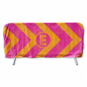 Bouncer Crowd Barrier Cover