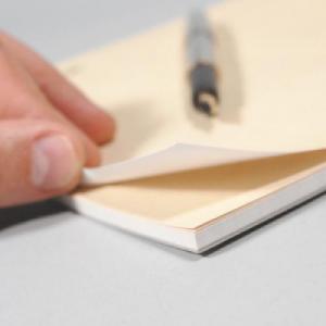 70LB Linen Uncoated 50 Sheet Notepads