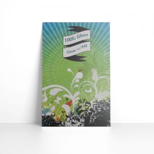 100LB Gloss Cover Postcards + AQ