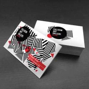 32PT Uncoated Black EDGE Postcards